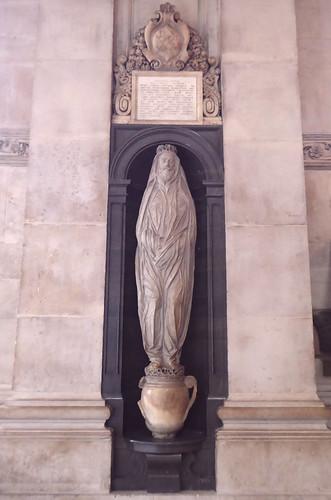John Donne's Monument, St Paul's   by Aidan McRae Thomson
