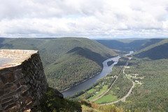 Hyner View State Park - View of the West Branch Susquehanna River Valley
