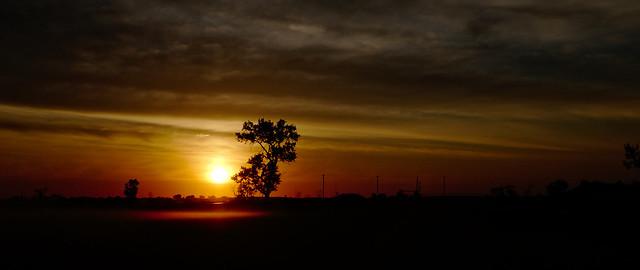 Sunrise in North Dakota
