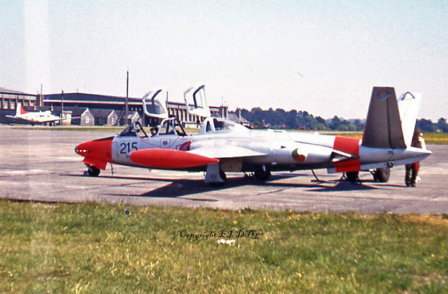 Fouga CM170 Super Magister 215 Irish Air Corps