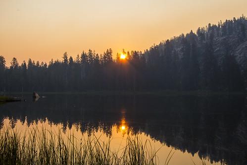 sequoianationalforest camping hiking lake sunrays sunlight sunrise