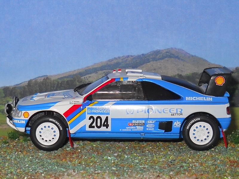 Peugeot 405 Turbo 16 – Dakar 1989