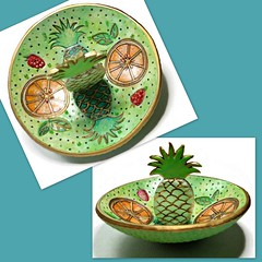 Tropical Pineapple Ring Dish