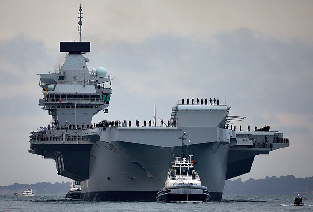 Her Majesty's Ship Queen Elizabeth