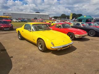Lotus Elan +2 with Elan Sprint