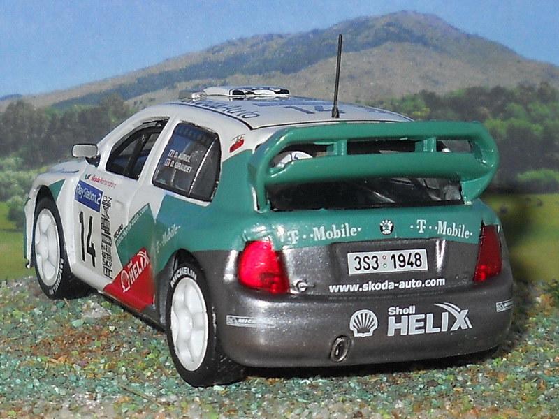 Skoda Fabia WRC – Córcega 2003