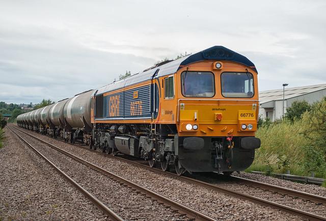 GBRf Class 66 66776 'Joanne'