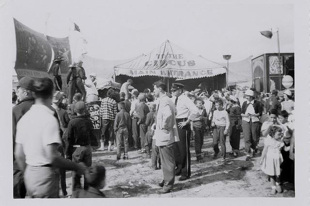 King Bros. Circus Entrance 1950s