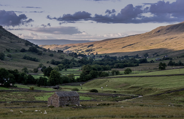 A view taken from the road between Hawes and Kirkby Stephen