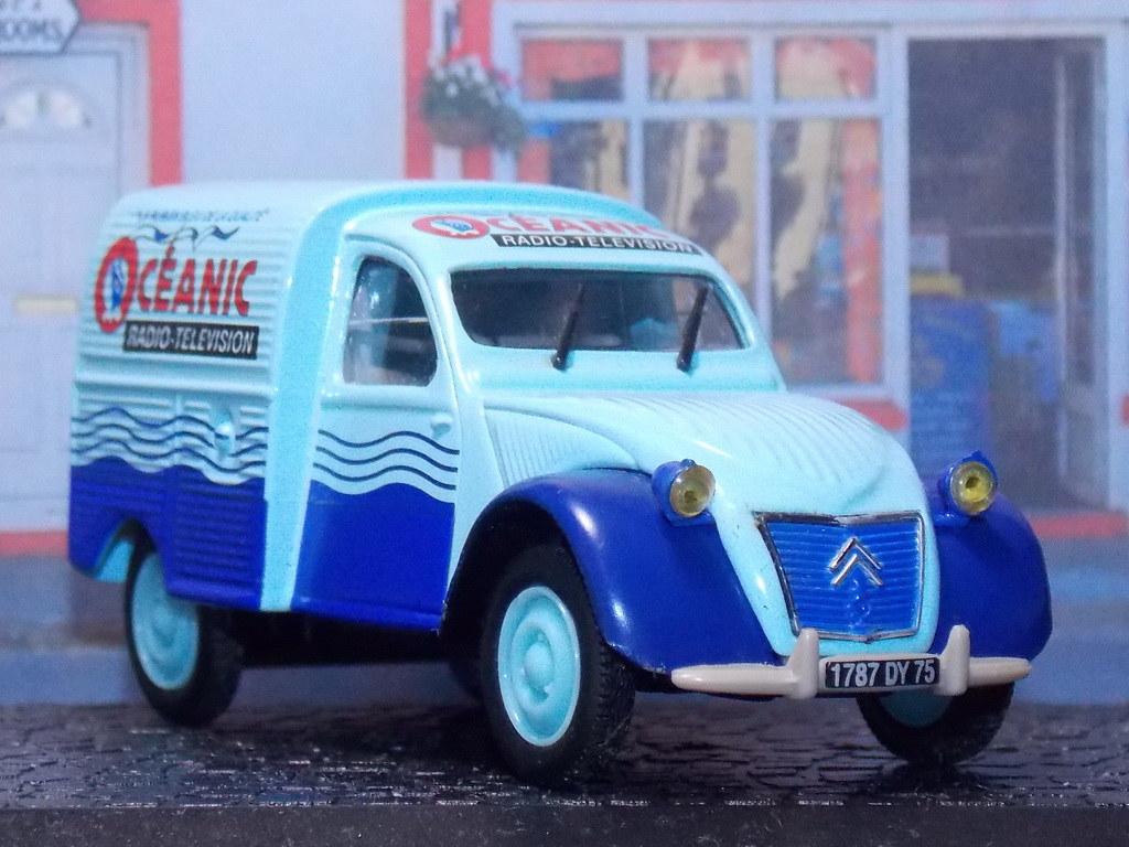 Citroën 2CV AZU - Oceanic - 1955