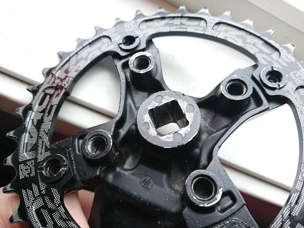 Failed Shimano Acera FC-M361_0401
