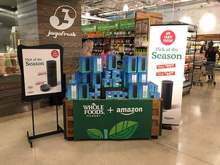 Amazon Echo At Whole Foods | by Phillip Pessar