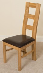 Yale oak dining chair