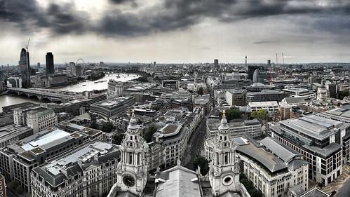London skyline | by Allan Henderson
