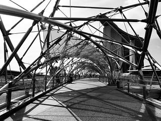 Bridge, Singapore | by Shinji Abe