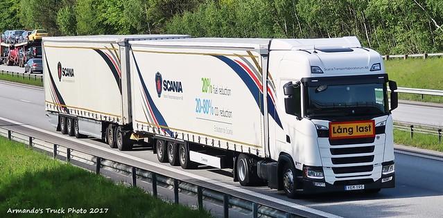 Scania S420 (S195) Scania TransportLaboratorium