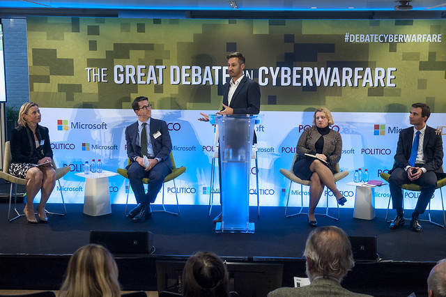 2017-09-27 The Great Debate on Cyberwarfare