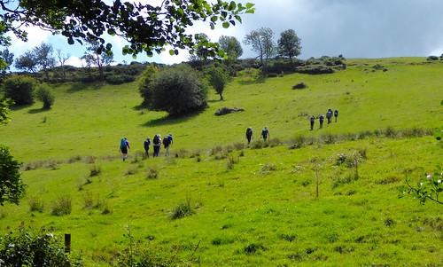 Up onto moors Sheffield to Bamford walk
