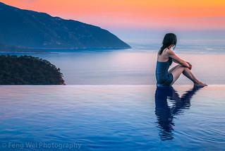 Mediterranean Sunset @ Kabak, Fethiye, Muğla, Turkey   by Feng Wei Photography