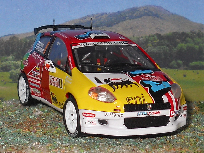 Fiat Grande Punto S2000 – Montecarlo 2010