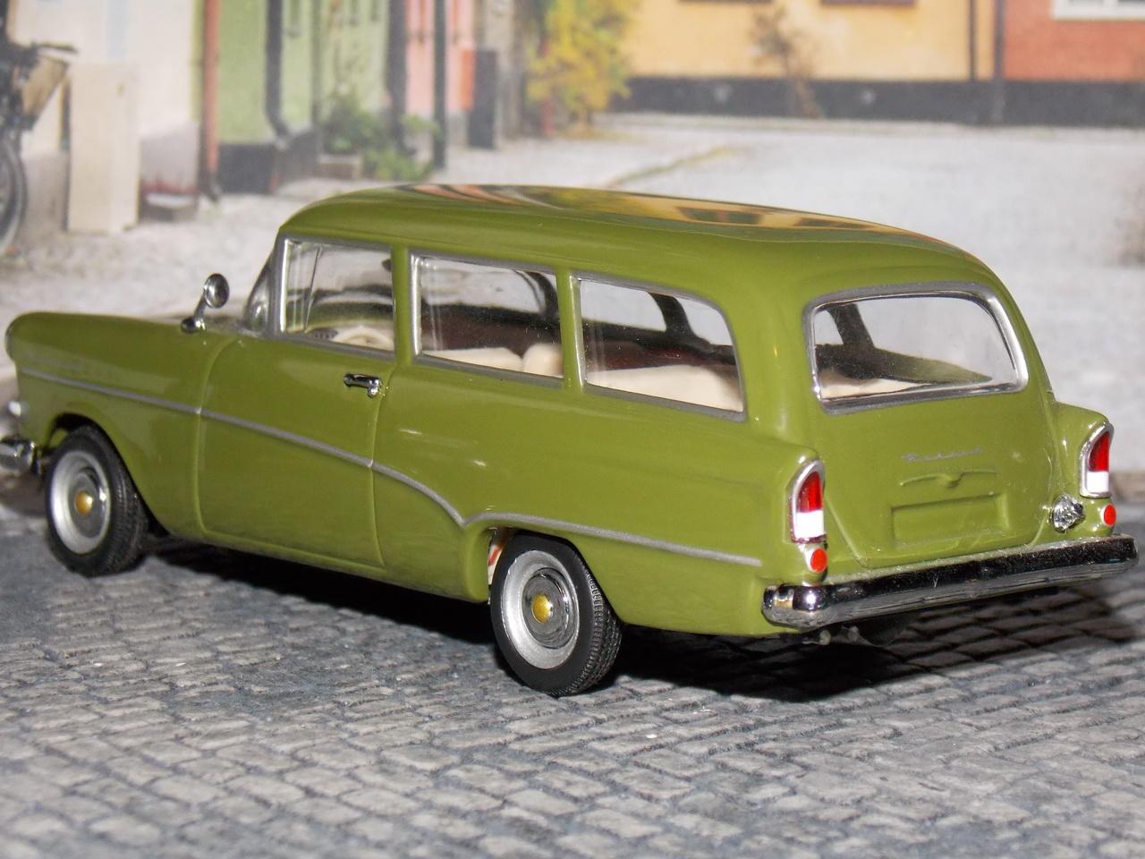 Opel Rekord P1 Caravan – 1957