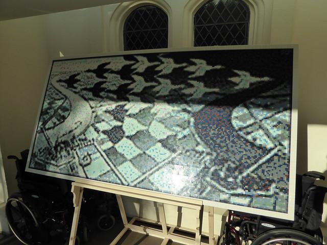 Lego Escher, Dulwich Picture Gallery