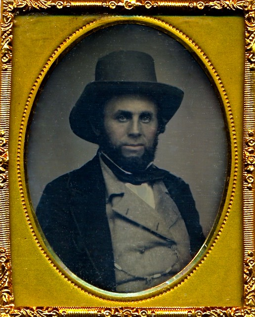 Captain Joseph H. Gleason, Minute Man of '61, 1/9th-Plate Daguerreotype, Circa 1852