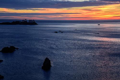 豊岡市 兵庫県 japan 城崎 日和山 海 seashore 日本海 日の出 sunrise