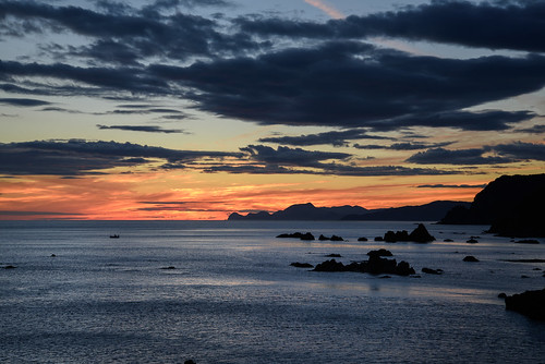 豊岡市 兵庫県 japan 城崎 海 seashore 日本海 日の出 sunrise 日和山