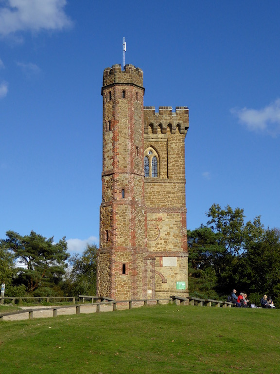 Leith Hill Tower Holmwood to Gomshall walk