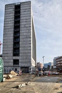 Europaplads, Åboulevarden, Mindebrogade, Europahuset, frilægning af åen - DSC_3185_Realistic