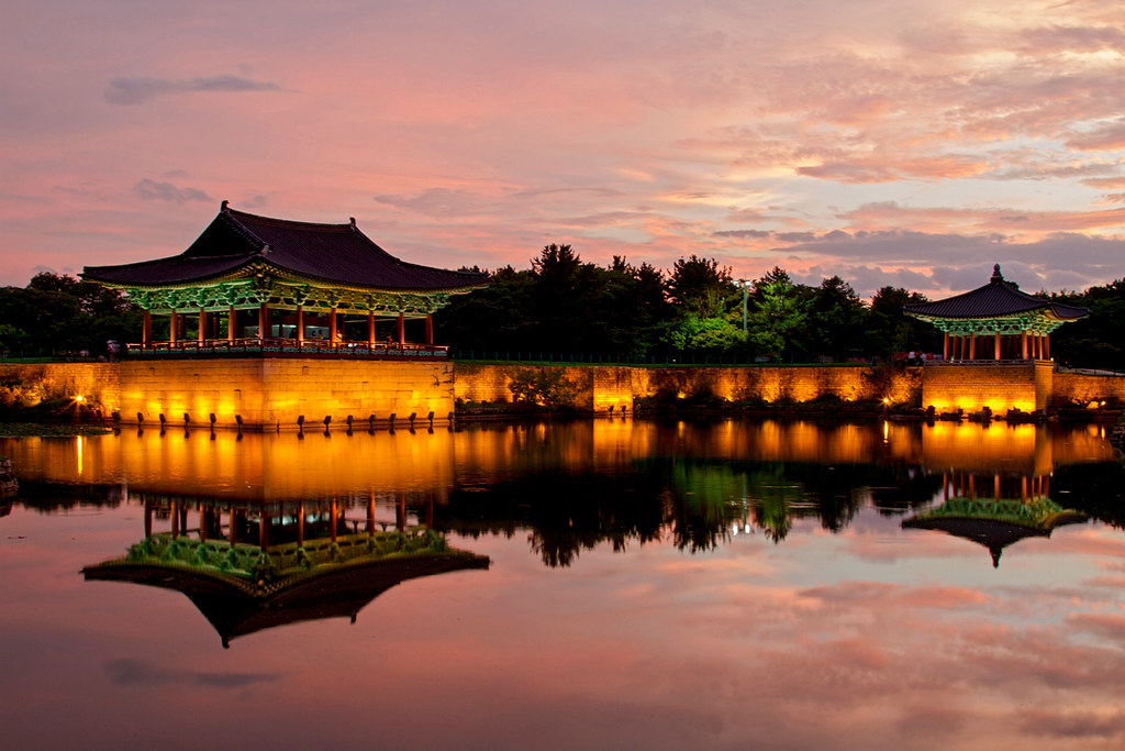 Anapji pond | Donggung Palace and Wolji Pond in Gyeongju | MH | Flickr