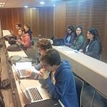Alumnas de Bradford School (Santiago) y Colegio Carmela Romero de Espinosa (Concepción)