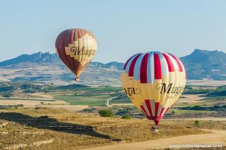 En globo por La Rioja   by Millán