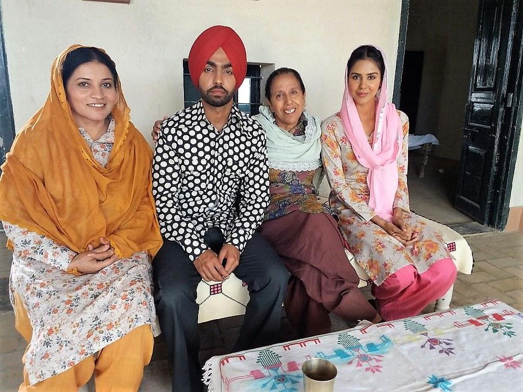 Parminder Gill Ammy Virk Gurpreet Bhangu And Sonam Bajwa Flickr