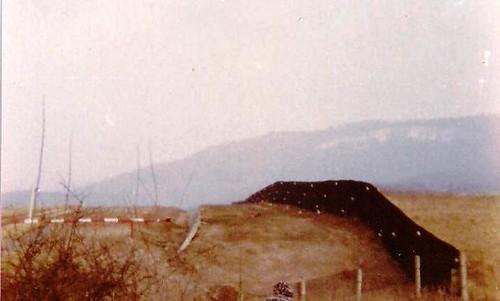 zwischen Asbach+ Sickenberg 1978 (East German Border at 1978)