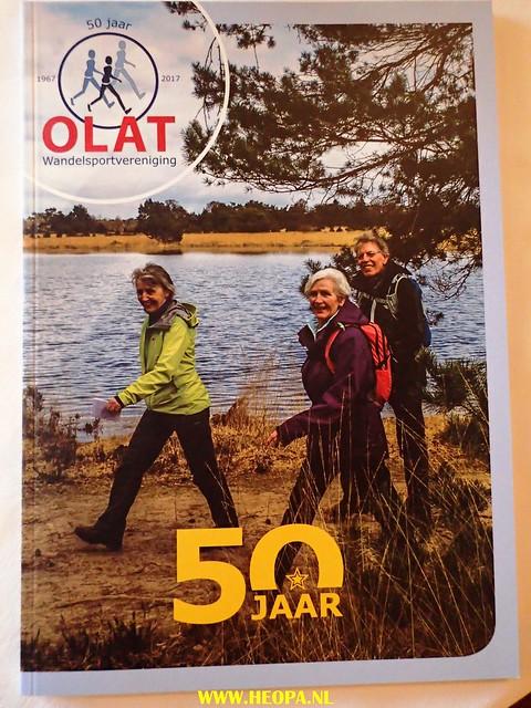 2017-09-16      -St. Oedenrode  OLAT 50 jaar    Jubileumtocht    28 Km (280)