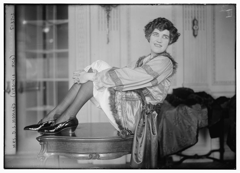 Mrs. D.S. Momand (Virginia Rice) (LOC)
