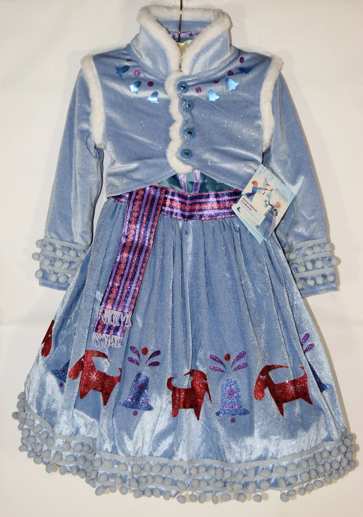 Anna Deluxe Costume - Olaf's Frozen Adventure - Full Front… | Flickr