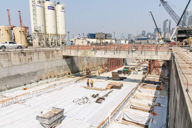 Strengthening the future southbound SR 99 roadway