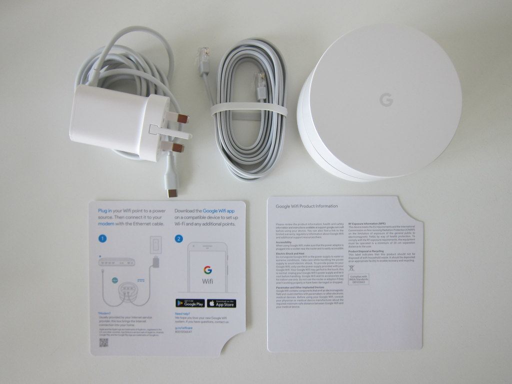 Google Wifi - Box Contents | Lester Chan | Flickr