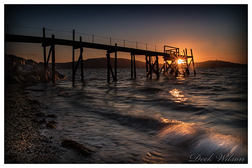 holywood jetty sunset belfastlough pier landscape seascape water canon7dmkii leelittlestopper northernirelandlandscape countydown
