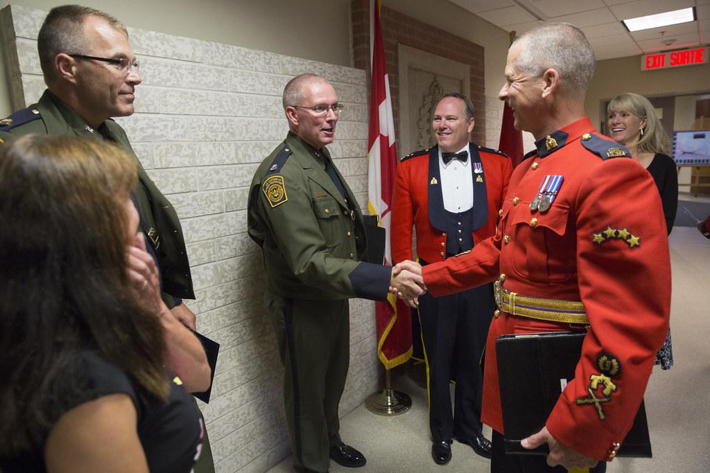 170807-H-NI589-1928   U S  Border Patrol Academy Chief Dan H