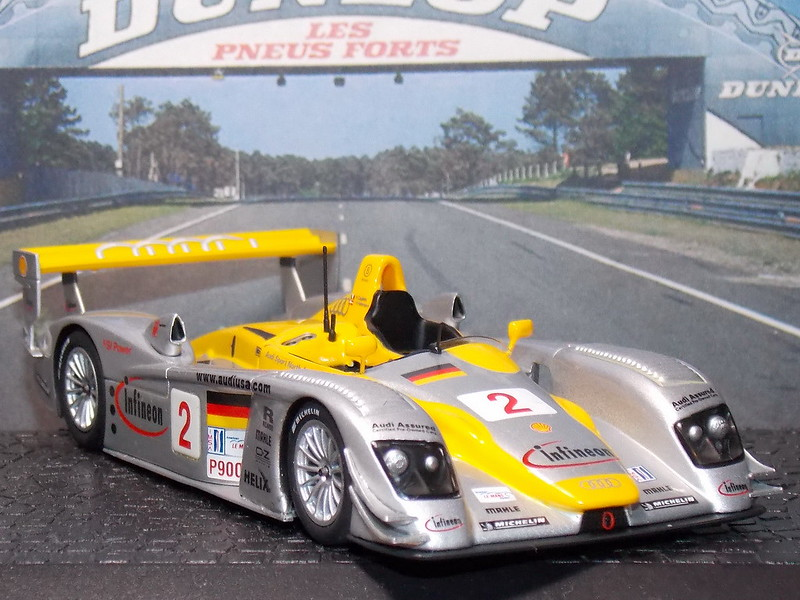 Audi R8 Petit Le Mans – 2002