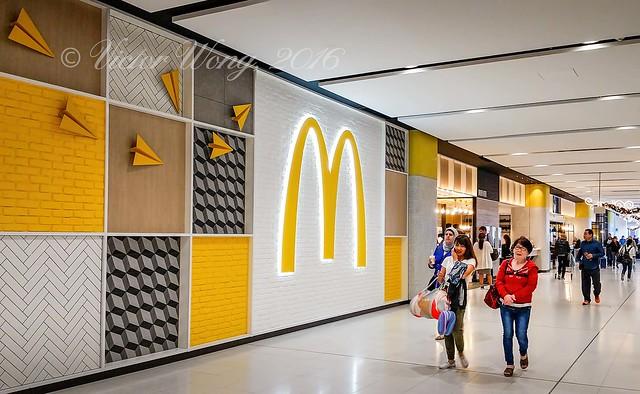 At Sydney Kingsford-Smith International Airport