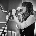 Wed, 06/09/2017 - 7:43am - Nicole Atkins and her band broadcast on WFUV Public Radio from Electric Lady Studios in New York City, 9/6/17. Hosted by Rita Houston. Photo by Gus Philippas/WFUV