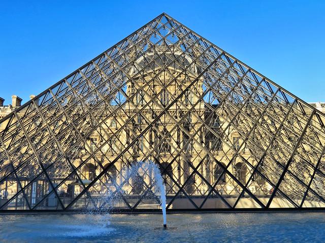 Le Louvre, Paris France