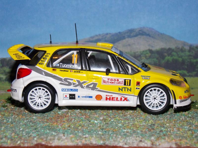 Suzuki SX4 WRC – Montecarlo 2008