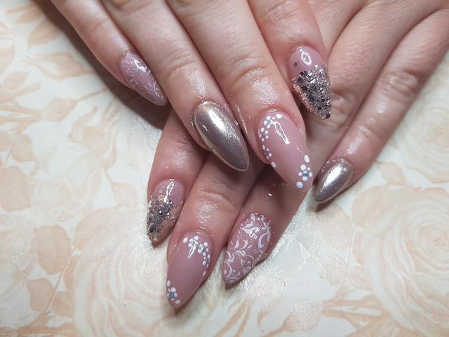 Nails Nude para inspirações