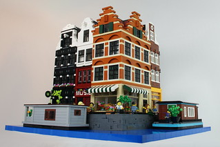 LEGO Modular Buildings: Amsterdam Canal Houses | by Palixa And The Bricks